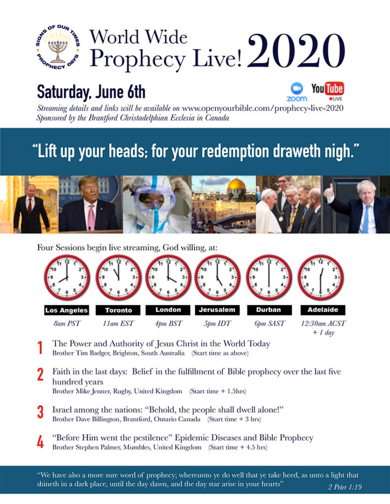 Prophecy Day 2020